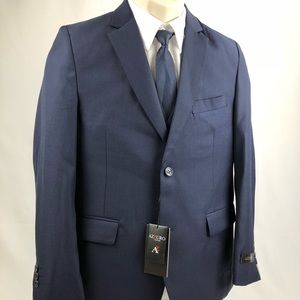 Other - NEW Azzuro 5 Piece Suit Navy Blue Boy's Size 14